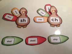 Thanksgiving Turkey - Literacy Center (Digraphs). Match the feathers (words) with the turkey (digraph)!! :) Includes: ch, sh, th and wh.