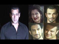 Bollywood Celebs at Salman Khan's 51st birthday party - UNCUT VIDEO Salman Khan, Gossip, Einstein, Bollywood, Interview, Celebs, Birthday, Music, Muziek