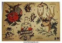 Traditional Tattoo Flash Book