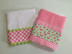 Easy Sewing Projects, Dish Towels, Kitchen Towels, Cool Kitchens, Napkins, Embroidered Towels, Charity, Towels, Cases