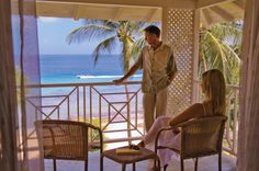You & me at Almond Beach Resort in #Barbados.