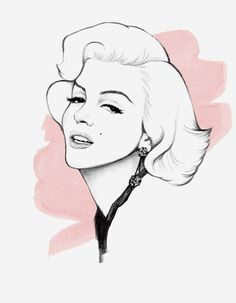 Miss Monroe by Nazgrelle on deviantART Pop Art Marilyn, Marilyn Monroe Photos, Art Sketches, Art Drawings, Pencil Drawings, Bamboo Tablet, Free Printable Coloring Sheets, Fairy Tree Houses, Drawing People
