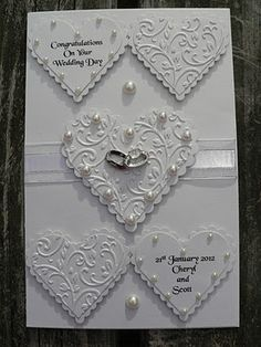 My Craft Creations: Wedding Card