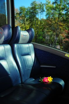 Luxurious, reclining leather seats for your comfort.