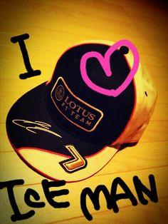 Lotus F1 team 2013 cap☆Kimi Raikkonen 7