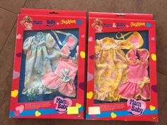2 Pck. Mam & Baby Fashion Kleidung Puppe Barbie 80er, rare, selten Vintage, OVP | eBay Vintage Barbie Kleidung, Vintage Barbie Clothes, Barbie Mode, Baby, Gift Wrapping, Gifts, Fashion, Games, Puppets