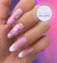 Unghii french în forma eliptică pas cu pas - Unghii False - BrillBird Women Facts, Health And Wellness Quotes, Health Tips For Women, Winter Colors, Ring Finger, Fashion Rings, Gel Nails, Cool Designs, Nail Art