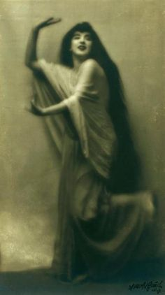 vintage everyday: Ruth St. Denis - a modern dance pioneer