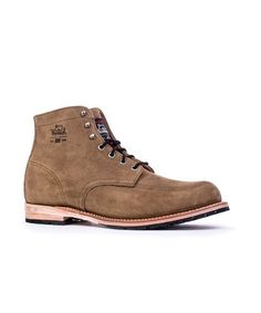 Men's Yankee Unlined Boot in Stone by WOOLRICH® The Original Outdoor Clothing Company