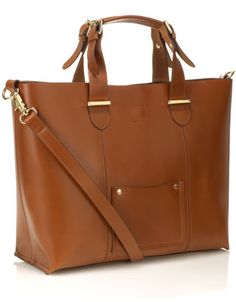 Mari tote leather bag from Accessorize