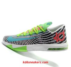 sports shoes 3af89 40a0d Men s NIKE KD VI KD6 Kevin Durant Stripe Basketball shoes size 12