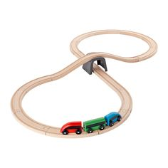 LILLABO Juego básico tren 20 piezas, multicolor multicolor -