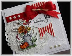 Hey again...here is another idea with the newly released Flourishes Set called Autumn   Blessings!!!
