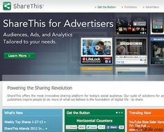ShareThis Top 10 Best Social Sharing Plugins For WordPress Blogs