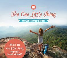 I've gone through and asked several traveling females about the one little thing they just can't travel without. There are some great items in these mini-interviews.