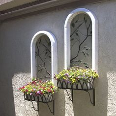 Yesterday's Windows become today's window boxes!