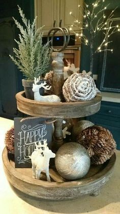 Below are the Rustic Christmas Table Settings Ideas. This article about Rustic Christmas Table Settings Ideas was posted under the Furniture category by our team at February 2019 at am. Hope you enjoy it and don't forget to . Decoration Christmas, Farmhouse Christmas Decor, Noel Christmas, Country Christmas, Xmas Decorations, Christmas Crafts, Christmas Kitchen, Christmas Movies, Natural Christmas
