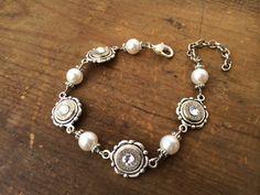 Bullet Bracelet Bullet Jewelry Dainty Silver by RicochetRounds