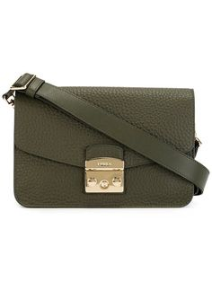 FURLA Flap Crossbody Bag. #furla #bags #shoulder bags #leather #crossbody #