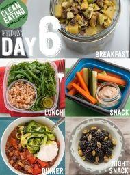 DEN 6 - přijměte výzvu a zkuste 14 denní čistou stravu