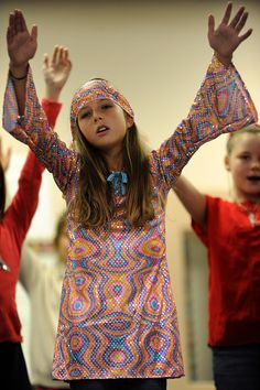 """Fifth graders perform the """"American Voices"""" musical Nov. 11 at Springs Ranch Elementary School in Falcon School DIstrict 49. The students highlighted U.S. history and military service by combining story and music."""