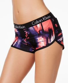 Calvin Klein Techno Printed Swim Boyshorts