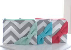 Cosmetic Case Cosmetic Bag by DesignsByFlory on Etsy