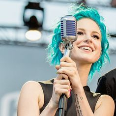 hayley williams, paramore, and blue hair Bild