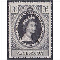 Ascension 1953 Coronation SG56 LMM (ref 5749) on eBid United Kingdom