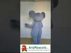 Adult size Koala Bear mascot costume