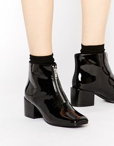 Cheap Monday Square Black Boots