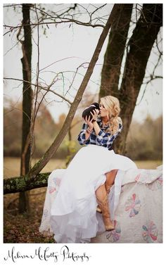 The Barn at Twin Oaks Ranch | 2011 Fall Styled Shoot | Fall barn wedding, bride in plaid, country wedding
