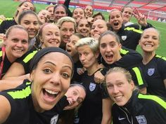 Last practice selfie. Tomarrow we battle Japan for 1st place in the Women's World Cup in Vancouver, Canada. LET'S GO USWNT! #ScoreToSettle #IBelieveThatWeWillWin