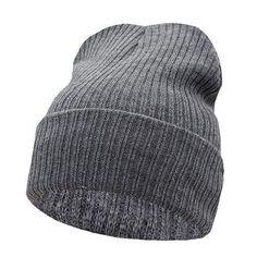 Beanies Winter Hat For Men Knitted Hat Women Winter Hats For Women Men Knit Caps Blank Casual Wool Warm Flat Bonnet Beanie