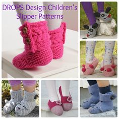 Ever since I first happened upon DROPS Design Free Patterns, our collection of Free Knit Boot Slippers and Free CrochetBootSlippers have been a favorite of our readers. Recently, I've gotte…
