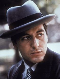 """Al Pacino in """"The Godfather"""" (1972). DIRECTOR: Francis Ford Coppola. SCREENWRITER: Francis Ford Coppola"""