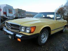 Mercedes-Benz SL 450 SL 1978, 123 456 km, kr 29 000,- -