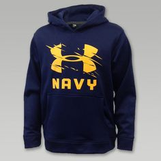 8315fbf33 Under Armour Navy Youth Slash Hood