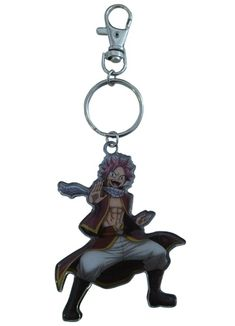 Department is Merchandise, Others, Key chains, Straps. Primary color is Black. Publisher is GE Animation. Series is Fairy Tail Fairy Tail Keys, Key Chain, Primary Colors, Animation, Poses, Christmas Ornaments, Holiday Decor, Metal, Accessories