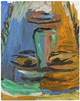 Der Abgarkopf by Georg Baselitz