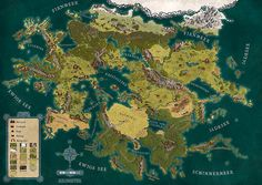 mapiverse:  Map for the new German RPG Splittermond.de. Cleverly...