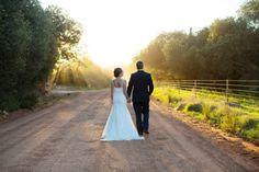 Stylish Contemporary Wedding with Lasercut Protea Details | Vivid Blue #wedding #lasercut #proteas