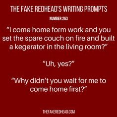 TFR's Writing Prompt 263