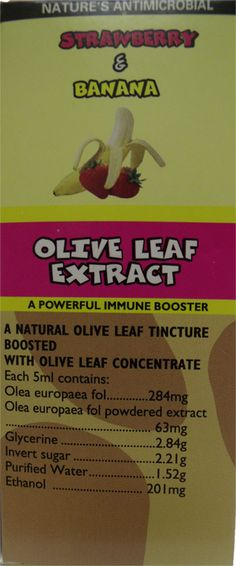 OLIVE LEAF EXTRACT KIDS SYRUP 150ML