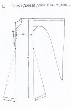 a bliaut pattern