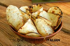 Quick & Easy Salt and Pepper Grilled Potato Chips