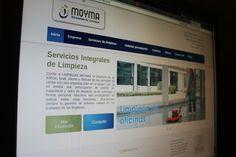 Página web del grupo Moyma