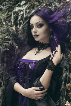 Model, MUA: Darya Goncharova Photo: Antonia Glaskova | photography page Jewelry: Aeternum Nocturne Gothic jewelry Dress: Sinister from The Gothic Shop Assistance: Mirsea's Wonderland