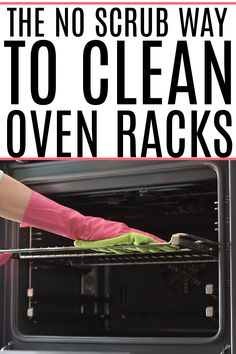 Tired of dirty oven racks? Check out this easy no-scrub trick for cleaning oven racks. You can clean oven racks without a bunch of scrubbing. Skip the chemicals get your oven racks looking like new. Cleaning Recipes, House Cleaning Tips, Spring Cleaning, Cleaning Hacks, Cleaning Oven Racks, Cleaning Appliances, Clean Toilet Bowl Stains, Cleaning With Peroxide, Clean Oven