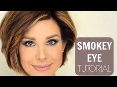Taupe Smokey Eye Tutorial - YouTube